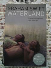 GRAHAM SWIFT Waterland in inglese ed. Picador 2008 Il paese dell'acqua