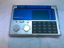 UltronicMulti-Function Portable Radio Alarm World Calendar Calculator