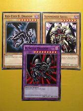 Black Skull Dragon + Red-Eyes + Summoned Skull - YuGiOh - Millennium Pack