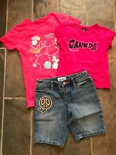 Girls Outfit Size 6 Two Canada T-shirts, One Old Navy Short