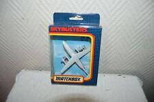AVION MATCHBOX SKYBUSTER BAE  146 DAN AIR BOITE  PLANE/PLANO SB38