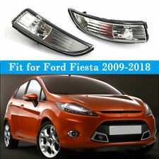 Car Left Side View Mirror Turn Signal Light Shell Cover For Ford Fiesta 2009-18