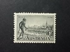 1934 MINT Centenary VIC 1/- BLACK mglh wm will combine postage,