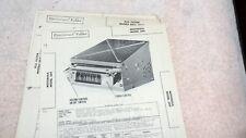 Motorola Car Radio Model 309  Sams Photofacts
