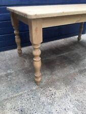 6ft X31/2ft (183cm) Farmhouse Table Pine waxed