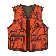 Gamehide Deer Camp Vest Woodlot Blaze Orange - Size 3X-Large