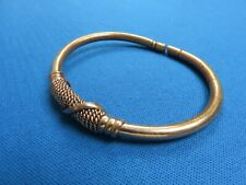 Copper Plated Wire Bracelet A Kenya East African Ethnic Jewelry