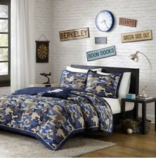 Full/Queen Andrew Josh Comforter Coverlet Quilt Bed In Bag Camo Mi Zone MZ80-308