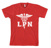 LPN NURSE Unisex Adult T-Shirt Tee Top