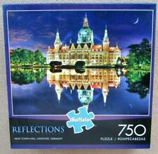 A 750 PIECE JIGSAW PUZZLE BY BUFFALO GAMES - NEW TOWN HALL, HANOVER, GERMANY