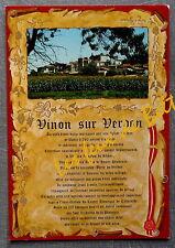 VINON SUR VERDON VAR  postcard