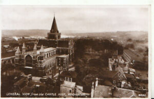 Kent Postcard - General View from The Castle Keep - Rochester -RP - Ref TZ6169