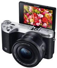 Samsung NX500 28 MP Camera 16-50mm Power Zoom Lens - Black (EV-NX500ZBMIUS)