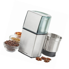 Andrew James Coffee Grinder, Nut Spice Grinder In Stainless Steel 200W Wet Dry