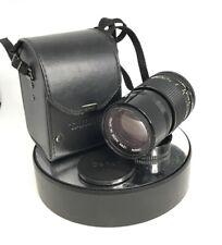 CANON 135MM 1:3 .5 FD Lente Nero Vintage Classico A lente della fotocamera in EX-COND & GWO#607