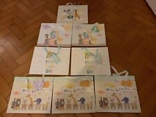 8 New Baby Unisex 4 Designs Animal Gift Bags