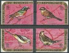 Timbres Oiseaux Burundi PA166/9 ** lot 19341