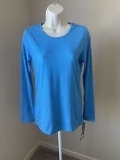New listing Sivvan Women's Blue Long Sleeve T-Shirt s S