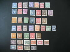 Cote des Somalis Stamps French Colonies Taxe N° 1 à 28 et 39 à 53  neuf */**/NSG