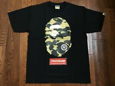 New A Bathing Ape Bape 1st Camo Big Ape Head Tee T-Shirt SS 2018 supreme Size L