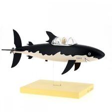 Figur Tim und Struppi Uboot - Tintin Model Shark Submarine (Moulinsart 46402)