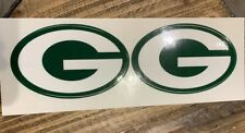 Green Bay Packers Decals With Stripes.