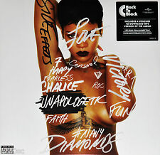 RIHANNA - UNAPOLOGETIC, 2017 EU 180G vinyl 2LP + MP3, NEW - SEALED!