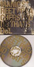 MUSIC: MANIC STREET PREACHERS SIGNED CD SLEEVE 'FOUND THAT SOUL'+COA