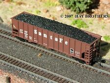 Hay Brothers FLOOD LOADED LUMP (RAW) COAL LOAD - Fits ATLAS 90-Ton 3-Bay Hoppers
