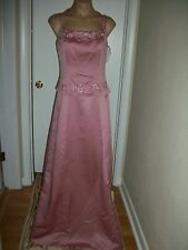 FORMAL DRESS EVENING BALL GOWN PROM PARTY COCTAIL WEDDING BRIDESMAID SIZE 12 NWT