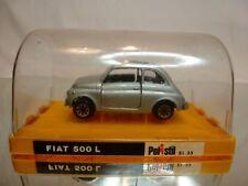 POLISTIL EL23 FIAT 500L - GREY METALLIC 1:43 - VERY RARE - EXCELLENT IN BOX