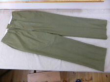 W44 - US ARMY WW2 Trousers wool Uniform Hose Mustard M1937 Feldhose / Stn