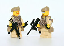 Aussie SAS Special Forces Team 1 Minifigures made with real LEGO® minifig parts
