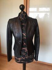 Danier Black Soft Leather Biker Jacket 4/6