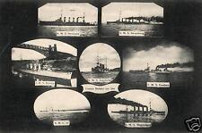2901/ Foto AK, Helden zur See, SMS Goeben, Breslau, U-15 u. A.