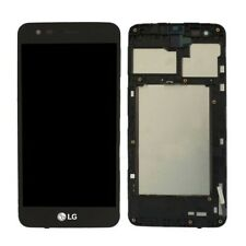 DISPLAY TOUCH SCREEN PER LG K4 2017 M160 NERO CON FRAME M160