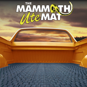 Mammoth Ute Mat - Ford Ranger PX Dual Cab 2011+ - Suit with no ute liner
