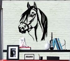 Horse Head Metal Wall Art Decor Home Office Living Room Bedroom Decoration 5073