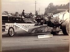 Shirley Muldowney Nhra Top Fuel Dragster 8x10 Vintage Circa 1980