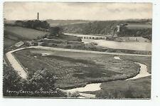 irish postcard ireland wexford ferry carrig