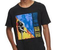 NWT Guns N' Roses Use Your Illusion T-Shirt Black Metal Album Music Rock Tee - M