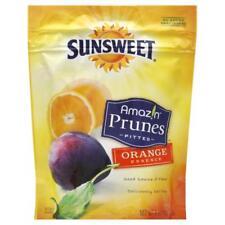 Sunsweet Amaz!n Prunes, Pitted, Orange Essence 6oz (Pack of 3)