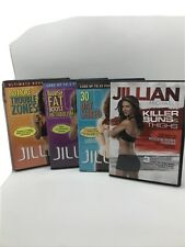 4 Jillian Michaels Workout Dvds Used Exercise Videos