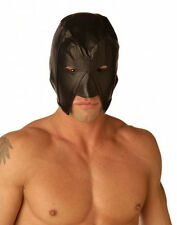 Strict Leather EXECUTIONERS HOOD Eye Mouth Opening head medieval mask costume
