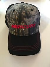 New Mercury Marine Mossy Oak Camo Mesh Trucker Hat Baseball Cap Fishing Hunting