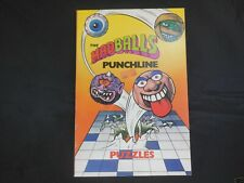 Madballs books from 1986 by Marvel Books, 5 books total, great condition