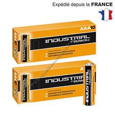Piles DURACELL INDUSTRIAL MN 2400 ALKALINE Lot de 20 Neuve LR03 AAA !!