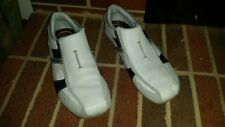 SKETCHERS WHITE LEATHER LOAFERS MENS SIZE 12