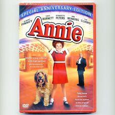 Annie 1982 musical PG movie, new DVD, Aileen Quinn, Albert Finney, Carol Burnett