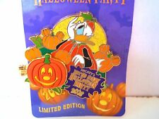 NEW DISNEY NOT SO SCARY HALLOWEEN PARTY 2008 LE 2500 PIN DONALD CHIP DALE